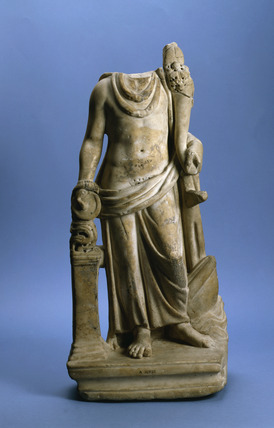 Cimrm 812 Cloaked Figure With Altar Walbrook Mithraeum